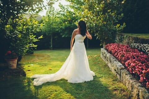 novia-jardín